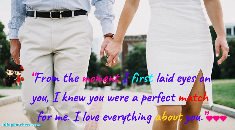 love message for girlfriend romantic