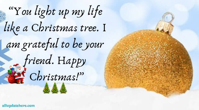 christmas wishes for friends quotes