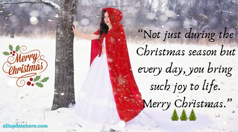 Top Merry Christmas Photos With Quotes Wishes & Saying
