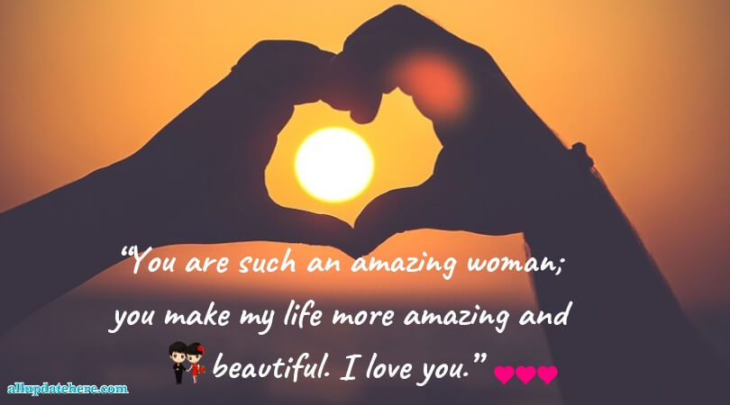 love sms for her