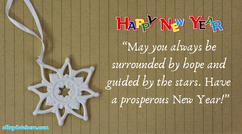 new year's greetings messages