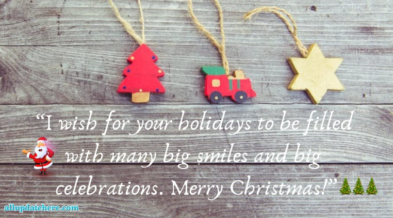 Merry Christmas photos With messages