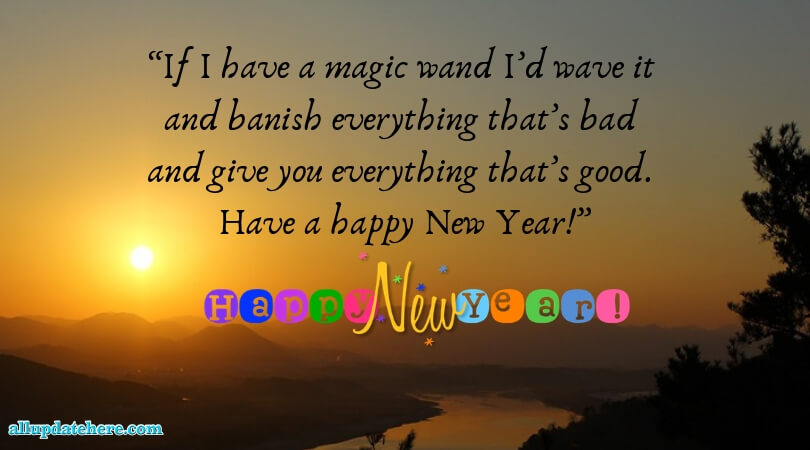 new year photos with quotes