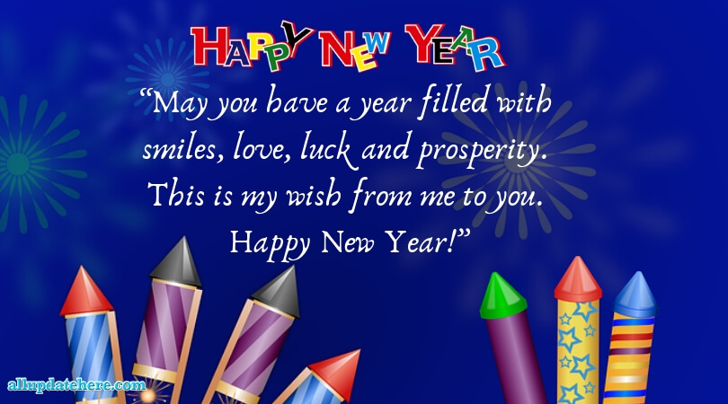 Latest Happy New Year Messages Images - Best Wishes Quotes