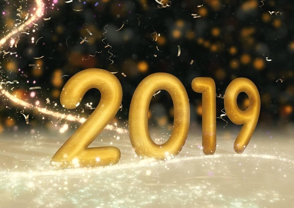happy new year 2019 status