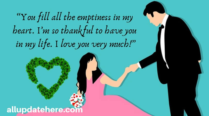 Romantic Love Quotes for Wife from Husband - 	I love My Wife Quotes