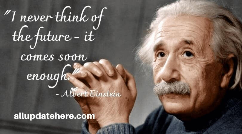 albert einstein quotes about time