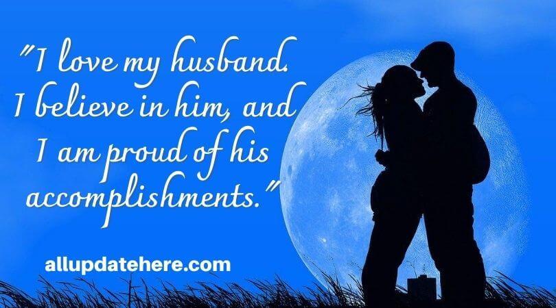 romantic husband quotes