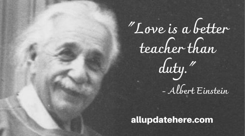 albert einstein quotes about love
