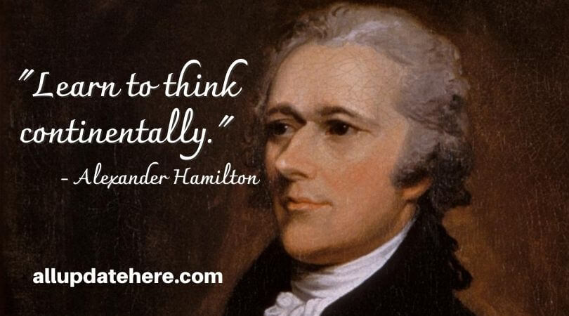 alexander hamilton quotes chair