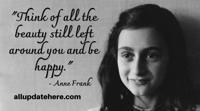 anne frank quotes gratitude