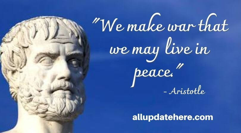 aristotle quotes on leadership
