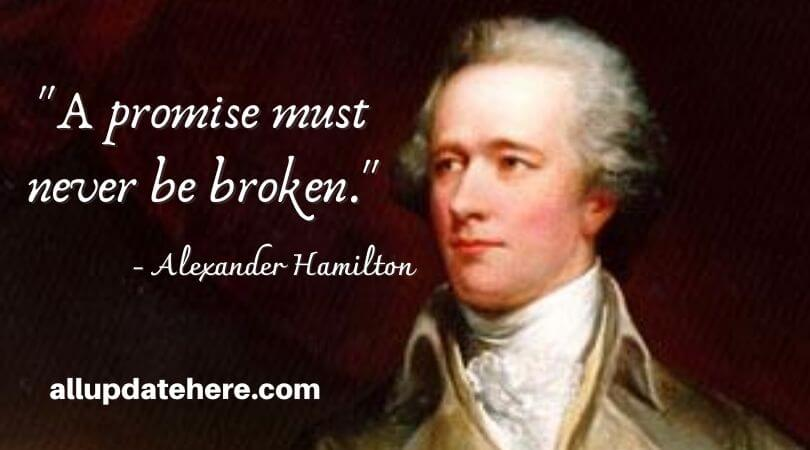 alexander hamilton quotes about love