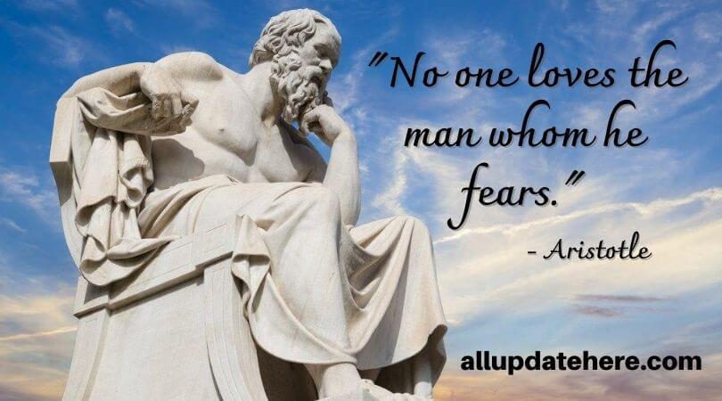 aristotle quotes on love