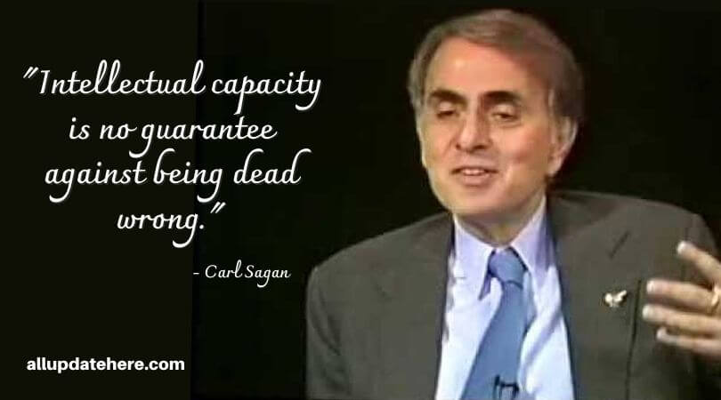 carl sagan quotes about death
