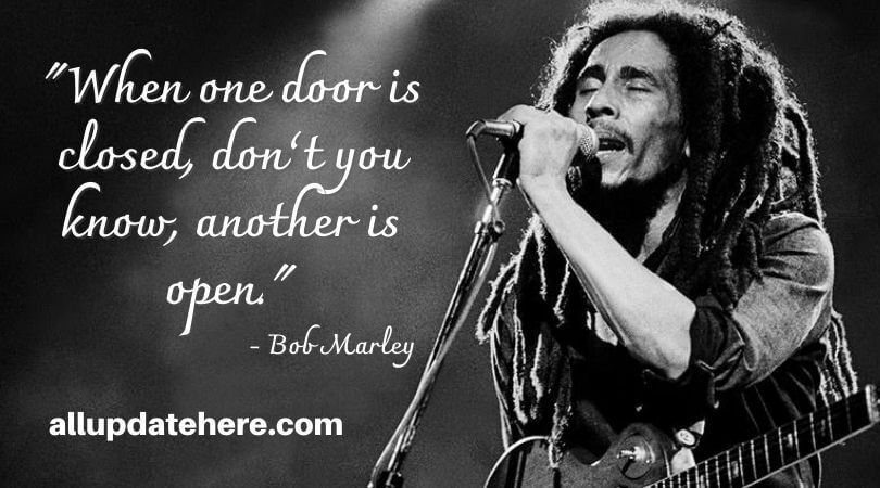 bob marley quotes strong