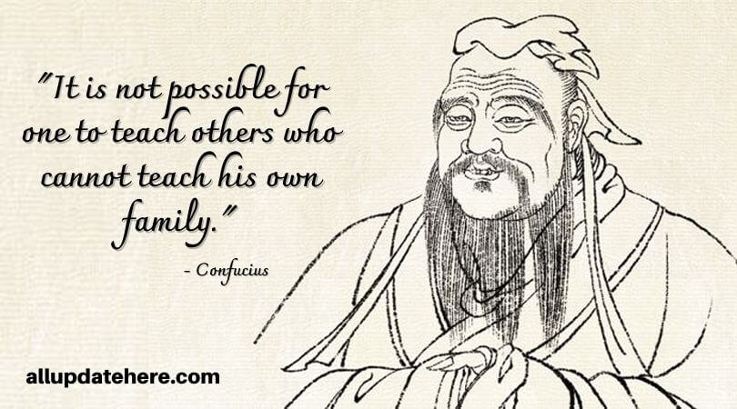 confucius quotes about family