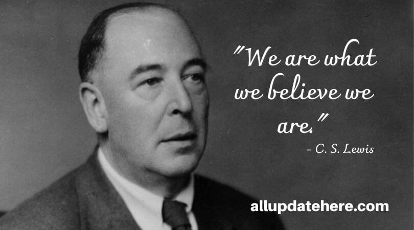 c s lewis quotes about life