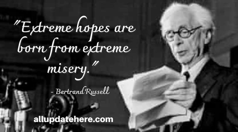 bertrand russell quotes about life