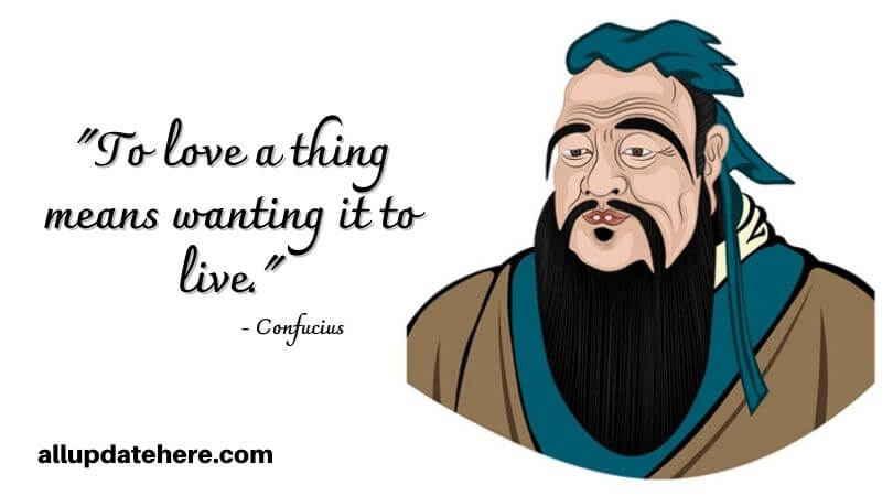 confucius quotes about love
