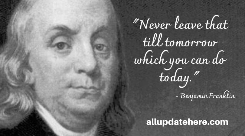 benjamin franklin quotes about learning