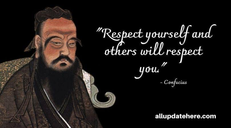 confucius quotes about respect