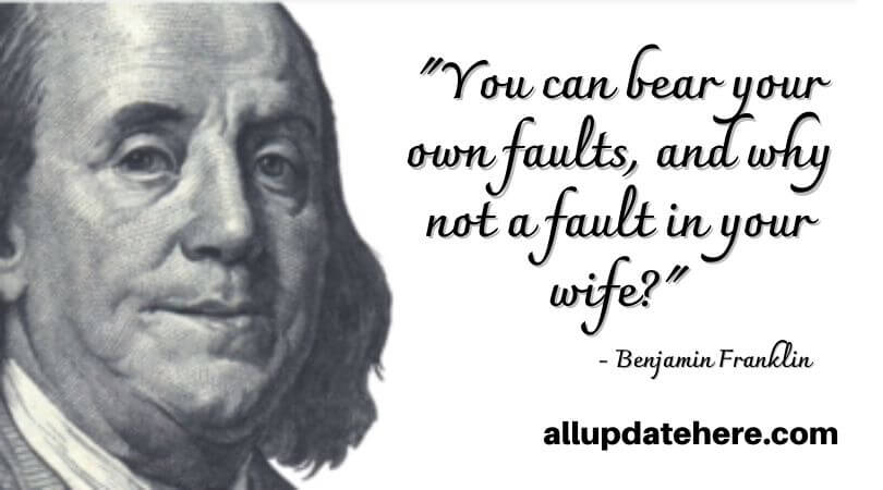 benjamin franklin quotes on justice