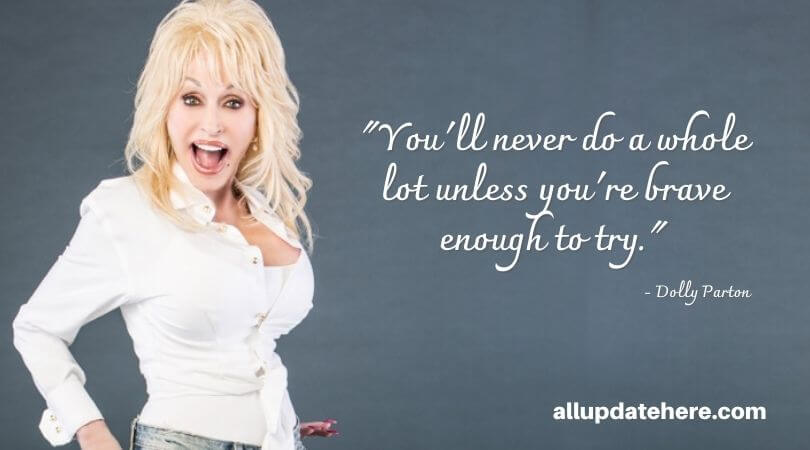 dolly parton quotes about life