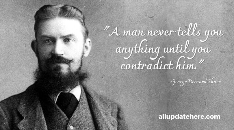 george bernard shaw quotes unreasonable man