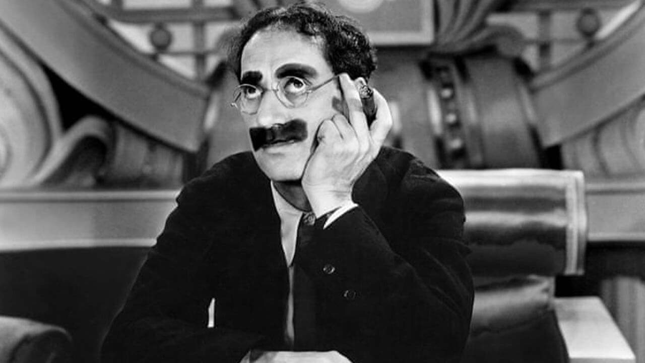 Groucho Marx Quotes On Happiness, Reality, Age, Politics, Inspirational